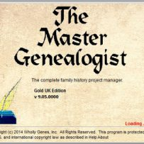 TMG – The Master Genealogist